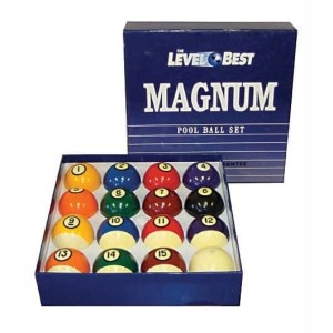 Level Best Magnum Billiard Ball Set | moneymachines.com