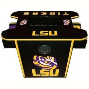 LSU Tigers Arcade Multi-Game Machine | moneymachines.com