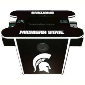 Michigan State Spartans Arcade Multi-Game Machine   moneymachines.com