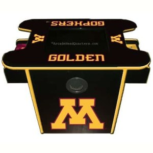 Minnesota Golden Gophers Arcade Multi-Game Machine | moneymachines.com