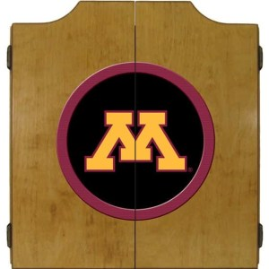 Minnesota Golden Gophers College Logo Dart Cabinet | moneymachines.com