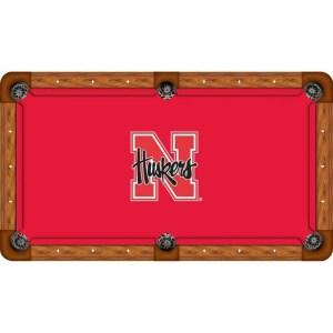 Nebraska Cornhuskers Billiard Table Cloth | moneymachines.com