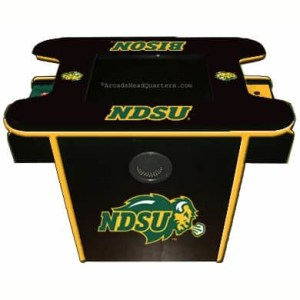 North Dakota State Bisons Arcade Multi-Game Machine   moneymachines.com