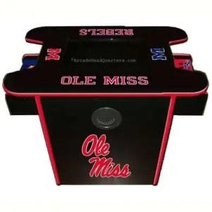 Ole Miss Rebels Arcade Multi-Game Machine | moneymachines.com
