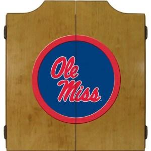 Ole Miss Rebels College Logo Dart Cabinet | moneymachines.com