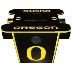 Oregon Ducks Arcade Multi-Game Machine | moneymachines.com