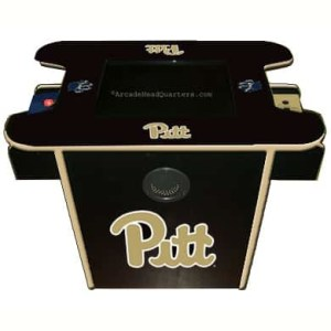 Pittsburgh Panthers Arcade Multi-Game Machine | moneymachines.com