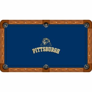 Pittsburgh Panthers Billiard Table Cloth | moneymachines.com
