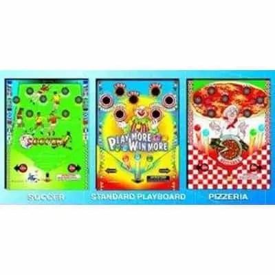 Playmore 2.0 Jr Pinball Vending Machine Playfield Graphics | moneymachines.com