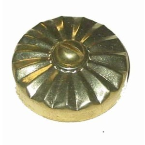 Pool Table Brass Rail Cap | moneymachines.com and Screw | moneymachines.com