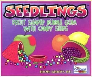 Seedling Candy Seed Filled Gumballs - Case Of 1 Inch 850 Count | moneymachines.com