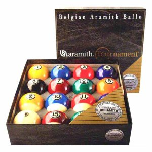 Super Aramith Tournament Pool Ball Set | moneymachines.com