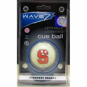 Syracuse Orange Billiard Cue Ball | moneymachines.com