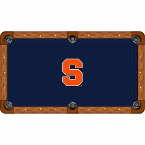 Syracuse Orange Billiard Table Cloth | moneymachines.com