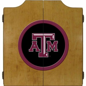 Texas A&M Aggies College Logo Dart Cabinet | moneymachines.com