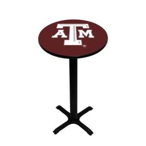Texas A&M Aggies College Logo Pub Table | moneymachines.com