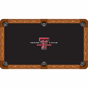 Texas Tech Billiard Table Cloth | moneymachines.com