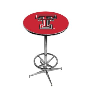 Texas Tech Red Raiders College Logo Pub Table | moneymachines.com