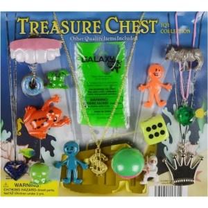 Treasure Chest Mixed Toys in 2 Inch Capsules - 250 Count Per Case | moneymachines.com