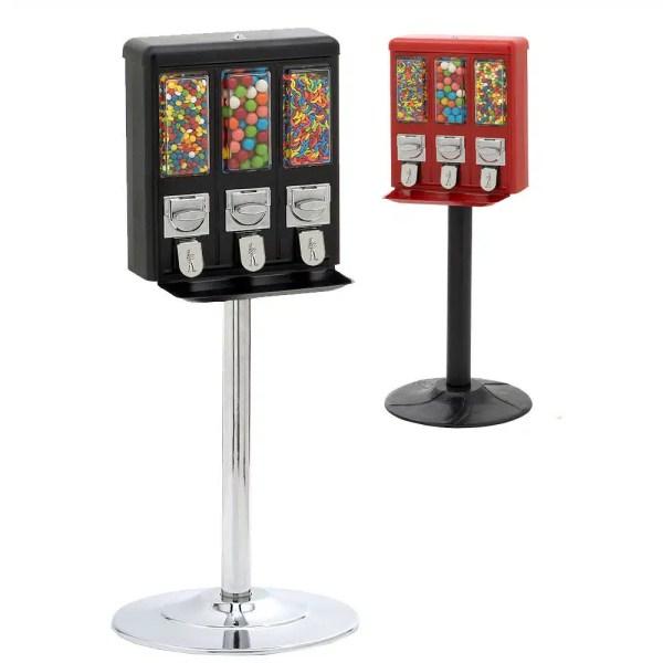 Triple Shop Gumball and Candy Vending Machine | moneymachines.com