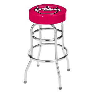 Utah Utes College Logo Double Rung Bar Stool | moneymachines.com