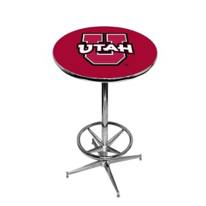 Utah Utes College Logo Pub Table | moneymachines.com