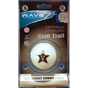Vanderbilt Commodores Billiard Cue Ball   moneymachines.com