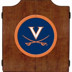 Virginia Cavaliers College Logo Dart Cabinet   moneymachines.com