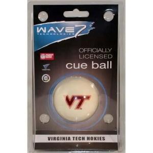 Virginia Tech Hokies Billiard Cue Ball | moneymachines.com
