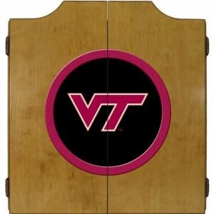 Virginia Tech Hokies College Logo Dart Cabinet | moneymachines.com