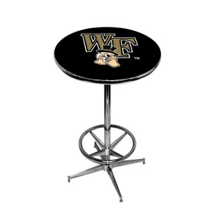 Wake Forest Demon Deacons College Logo Pub Table | moneymachines.com