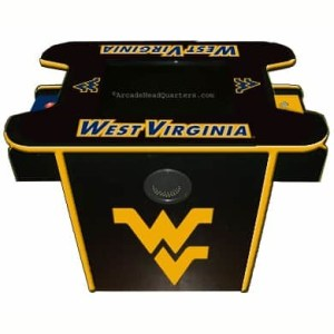 West Virginia Mountaineers Arcade Multi-Game Machine | moneymachines.com