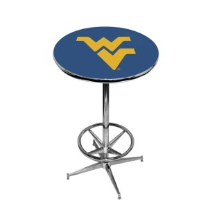 West Virginia Mountaineers College Logo Pub Table | moneymachines.com