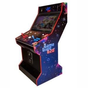 "600+ Fighting Games in 1 Multicade Arcade Game Machine Upright - 32"" Hortizonal LCD Monitor | moneymachines.com"