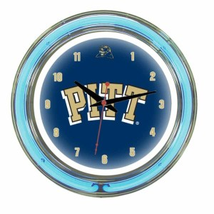 Pittsburgh Neon Wall Clock | moneymachines.com