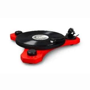 Crosley C3 Turntable - Red   moneymachines.com