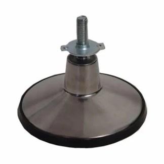 6 Inch Cast Aluminum Pool Table Leg Leveler | moneymachines.com