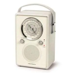Mockingbird AM/FM Radio With Bluetooth - White Sand | moneymachines.com