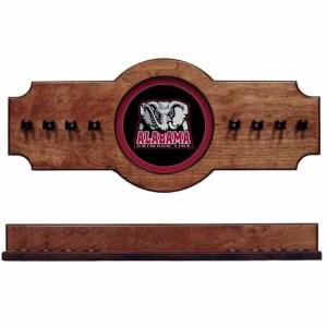 Alabama 2-Piece Cue Rack pecan Elephant | Moneymachines.com