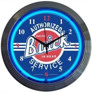 AUTO – GM – BUICK SERVICE NEON CLOCK – 8BUICK   moneymachines.com
