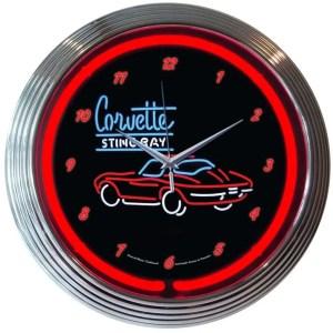 Automotive & Transportation Neon Wall Clocks