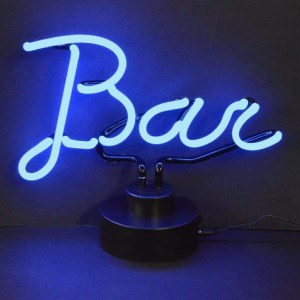 BAR SCRIPT NEON SCULPTURE – 4BARXX | moneymachines.com