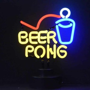 BEER PONG NEON SCULPTURE – 4BEERP | moneymachines.com