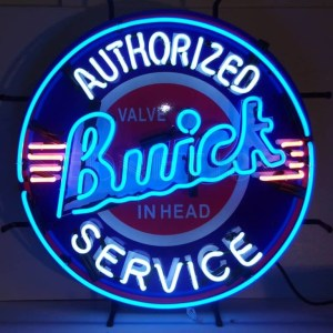 BUICK NEON SIGN WITH BACKING – 5BUIBK | moneymachines.com