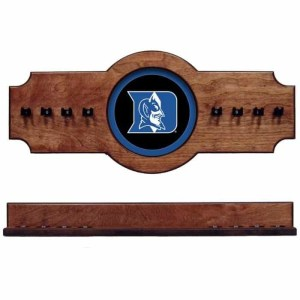 Duke 2-Piece Cue Rack Pecan | Moneymachines.com