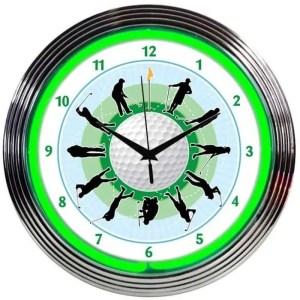 GOLF NEON CLOCK – 8GOLFR | moneymachines.com