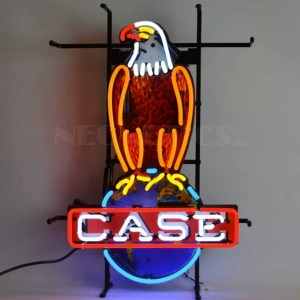 IH CASE EAGLE NEON SIGN – 5CASEE | moneymachines.com