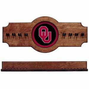 Oklahoma 2-Piece Cue Rack Pecan | Moneymachines.com
