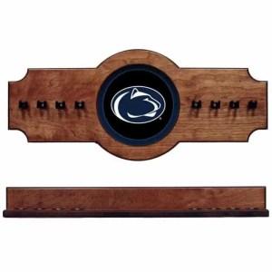 Penn State 2-Piece Cue Rack Pecan | Moneymachines.com