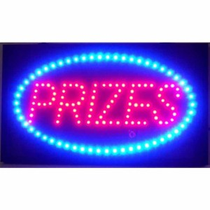 PRIZES LED SIGN – 5PRILED | moneymachines.com